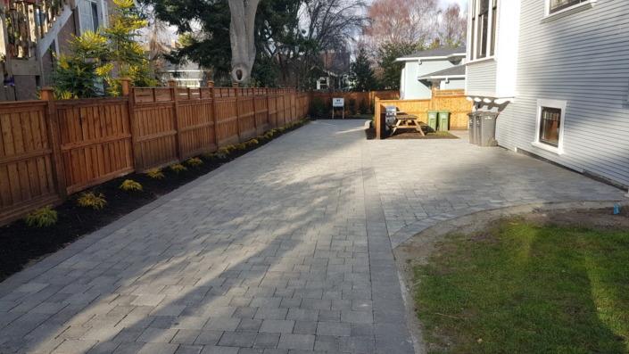 Cook Street Driveway Victoria BC