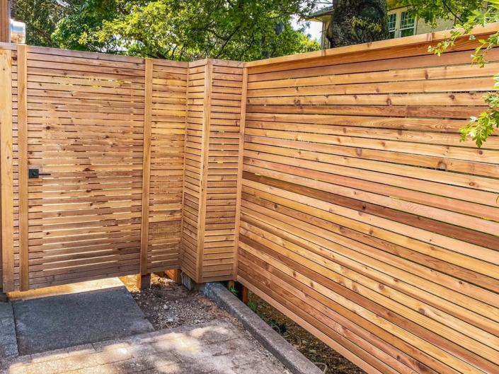 James Bay Cedar Fence Victoria BC